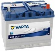 Автомобильный аккумулятор Varta Blue Dynamic Asia E23 (70 А/h), 630А R+ (570 412 063)