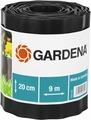 """Бордюр декоративный """"Gardena"""", цвет: черный, ширина 20 см, длина 9 м"""