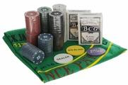 """Набор для покера Русские Подарки """"Texas Hold'Em Poker Set"""", 200 фишек. 42444"""