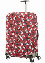 Чехол для чемодана большой Samsonite 47C*002 Travel Accessories Luggage Cover L *00 Mickey/Minnie Red