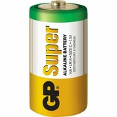 Батарейка GP Super Alkaline C (R14)
