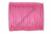 Шнур нейлоновый ярко-розовый 1 мм