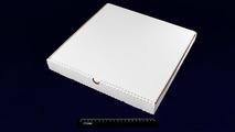 Коробка под пиццу 350*350*40 Белая.31696b