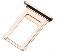 Контейнер SIM iPhone 8 Plus, золотой