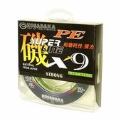 Леска плетеная Kosadaka SUPER LINE PE X9 Light Green 0.18мм