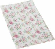 """Ткань для пэчворка Артмикс """"Нежные розы шебби"""", цвет: белый, розовый, зеленый, 48 x 50 см"""