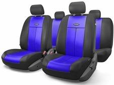 """Авточехлы Autoprofi """"TT"""", цвет: черный, синий, 9 предметов. TT-902V BK/BL"""