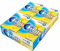 """Orbit """"Лимон и мята"""" леденцы, 8 пачек по 35 г"""