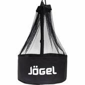 Сумка для мячей JOGEL 9-12 мячей черный/белый (JBM-1804-061)