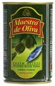 Maestro de Oliva оливки с тунцом, 300 г