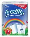 """Полотенца бумажные """"Familia"""", двухслойные"""