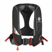 Автоматический спасательный жилет CrewSaver Crewfit 180N Pro 9025BRA черный/красный