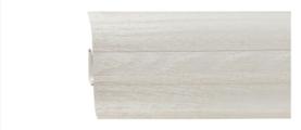 Плинтус напольный пластиковый Grace Technical Т11 Ясень светлый