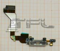 Шлейф с разъёмом зарядки для iPhone 4