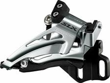 """Переключатель передний Shimano """"SLX M7025-L"""", нижний хомут, для 2 х 11 скоростей, нижняя тяга"""