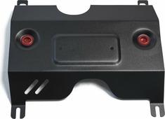 Защита заслонки системы выпуска ОГ Автоброня для Volkswagen Tiguan 2017-н.в., сталь 2 мм, без крепежа. 1.05850.1