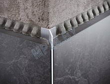 Алюминиевый анодированный профиль для плитки DAZ (мерседес)