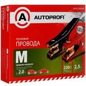 """Провода пусковые """"Autoprofi М"""", средние нагрузки, 8,37 мм2, 230 A, 2,5 м"""
