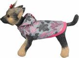 """Ветровка для собак Dogmoda """"Мегаполис"""", унисекс, цвет: розовый. Размер S"""