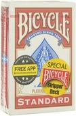 """Карты для фокусов Bicycle """"Stripper Deck"""", цвет: красный, 54 карты"""