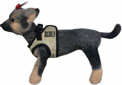 Шлейка-жилет для собак Dogmoda, DM-190101-2, бежевый, размер 2 (M)