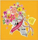 "Мини-открытка Дарите Счастье ""Радости и улыбок"", 7 х 7 см"