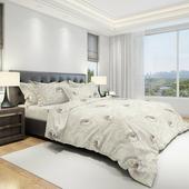 Комплект постельного белья Amore Mio Eco Cotton URG Verona, 12293, 2-спальный, наволочки 70x70