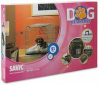 """Переноска-клетка для животных Savic """"Residence"""", цвет: серый, 91 х 61 х 71 см"""