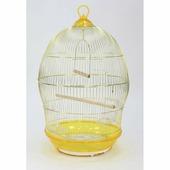Клетка для птиц 370G золотая