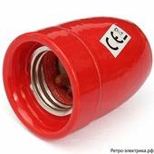 "Ретро патрон ""ASR Ceramic Red-40"", материал: керамика, цвет: красный"