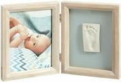 """Рамочка двойная Baby Art """"Классика"""", цвет: белый"""