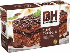 Baker House Трюфель торт бисквитный, 350 г