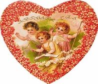 Чай листовой ABIGAIL Валентинка, в упаковке сердце красное, 50 г