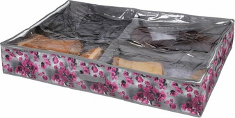 """Короб для хранения обуви Handy Home""""Роза"""", 4 секции, 94 х 60 х 15 см"""