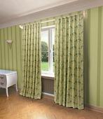 """Штора Sanpa Home Collection """"Лесли"""", HP80244/3/1Е Лесли зеленый, зеленый, (200*260)"""