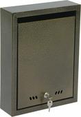 """Ящик почтовый """"ОТК"""", с замком, цвет: бронзовый, 37 х 28 х 9 см"""
