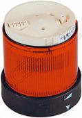 Сигнальная лампа-маячок красная мигающая со светодиодами 230В AC Schneider Electric, XVBC5M4