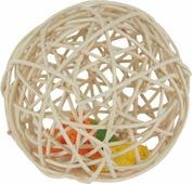 """Игрушка для грызунов Fauna """"Мяч плетеный"""", диаметр 12 см"""