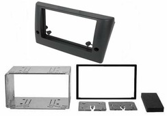 Переходная рамка для установки магнитолы Incar RFI-N01S - Переходная рамка FIAT Stilo (192) 2001-2008 (2-DIN) установочный комплект
