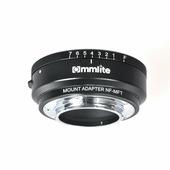 Адаптер Commlite CM-NF-MFT для оптики Nikon D/F/G на байонет Micro 4/3