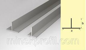 Тавр алюминиевый 20х20 300см