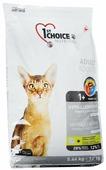 """Корм сухой 1st Choice """"Adult"""" для взрослых кошек, гипоаллергенный, беззерновой, с уткой и картофелем, 5,44 кг"""