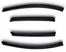 Комплект дефлекторов Sim, для Renault Sandero 2014- хэтчбек, 4 шт
