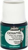 Pebeo Краска по керамике и металлу Ceramic цвет 26 изумрудный 45 мл