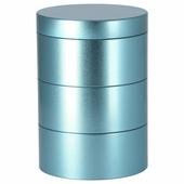 Декоративная коробка ланкмой, синий (17x12 см)