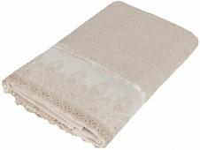 """Полотенце Soavita """"Нежность"""", цвет: песочный, 48 х 90 см"""