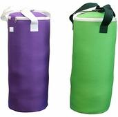 Боксерская груша (боксерский мешок) Absolute Champion 10 кг Оксфорд фиолетовый и салатовый