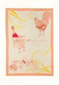 Полотенце кухонное Pastel льняное, бежевый