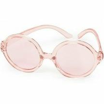 Happy Baby Солнцезащитные очки круглые, 1,5 - 5 лет - розовые