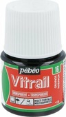 Pebeo Краска для стекла и металла Vitrail лаковая прозрачная цвет 050-016 оранжевый 45 мл